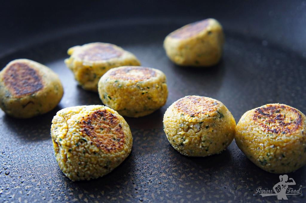 Falafel aus dem homemade instant Falafel-Mix