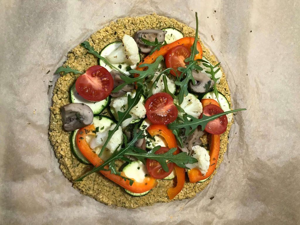 vegane Falafel-Pizza, ©Kerstin Seiler